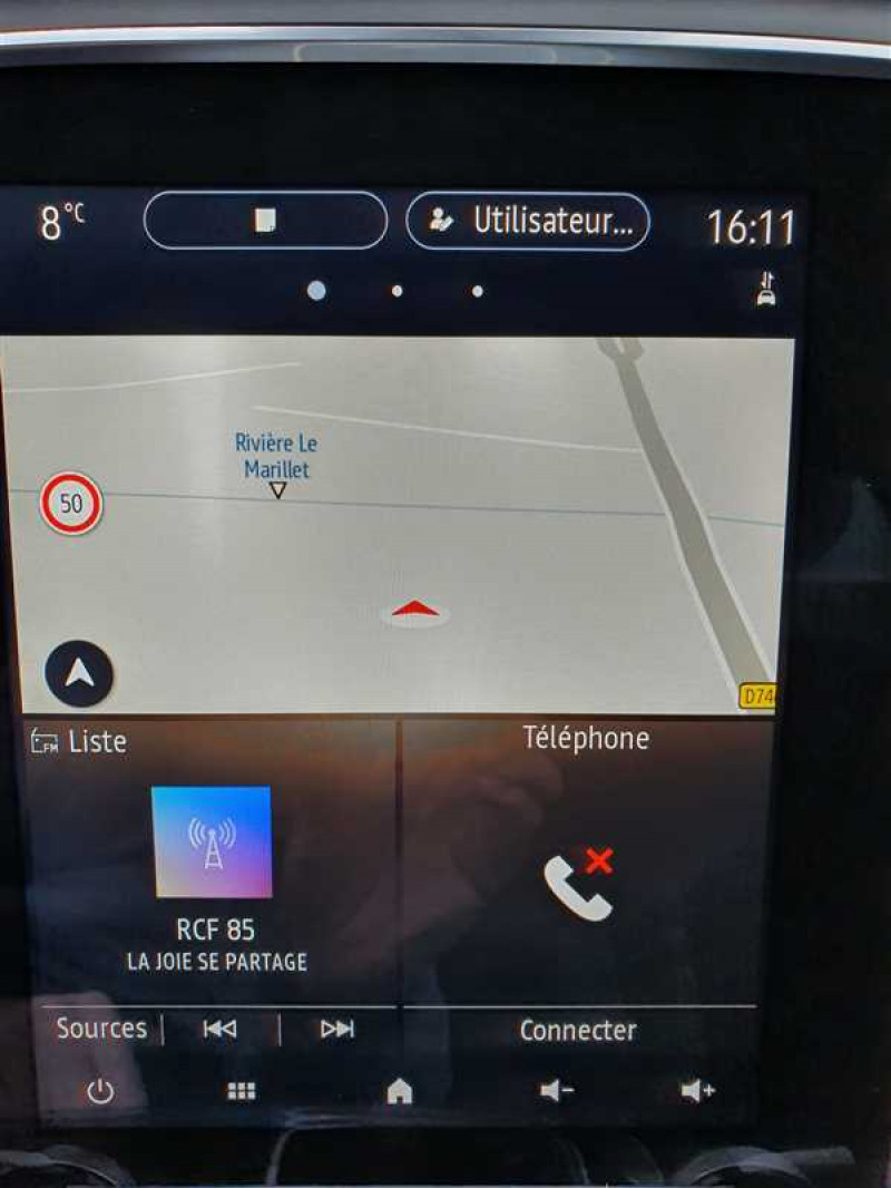 Photo 8 de l'offre de RENAULT MEGANE PH2 1.6 BLUE DCI 115 INTENS EDC à 22490€ chez Mareuil automobiles