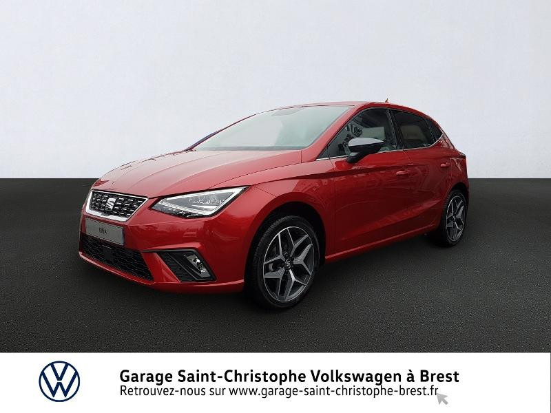 Seat Ibiza 1.0 EcoTSI 95ch Start/Stop Xcellence Euro6d-T Essence ROUGE DESIR Occasion à vendre