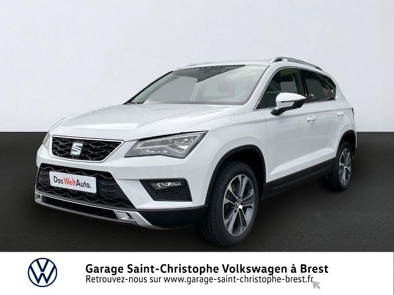 Seat Ateca 1.4 EcoTSI 150ch ACT Start&Stop Style Essence BLANC NEVADA Occasion à vendre