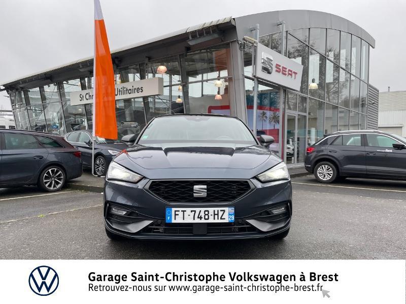 Photo 5 de l'offre de SEAT Leon eHybrid 204ch FR DSG6 à 32990€ chez Garage Saint Christophe - Volkswagen Brest