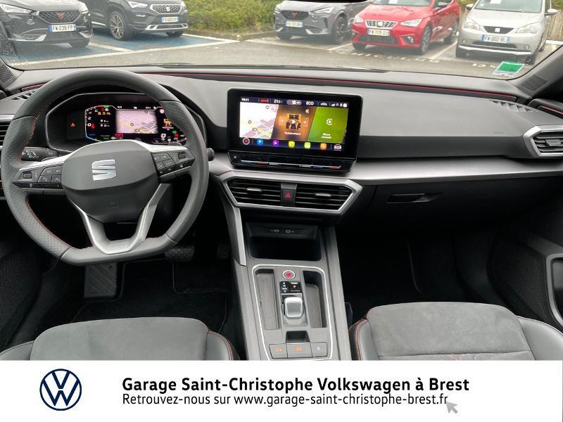 Photo 6 de l'offre de SEAT Leon eHybrid 204ch FR DSG6 à 32990€ chez Garage Saint Christophe - Volkswagen Brest