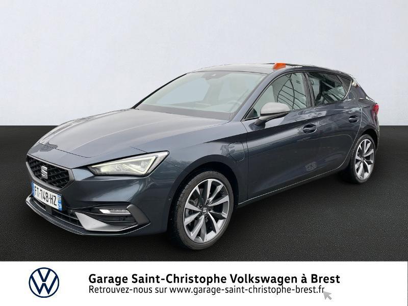 Photo 1 de l'offre de SEAT Leon eHybrid 204ch FR DSG6 à 32990€ chez Garage Saint Christophe - Volkswagen Brest