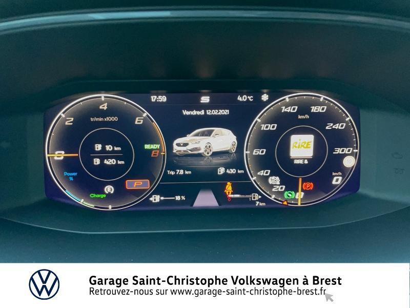 Photo 9 de l'offre de CUPRA Leon 1.4 eHybrid 245ch DSG6 à 36990€ chez Garage Saint Christophe - Volkswagen Brest