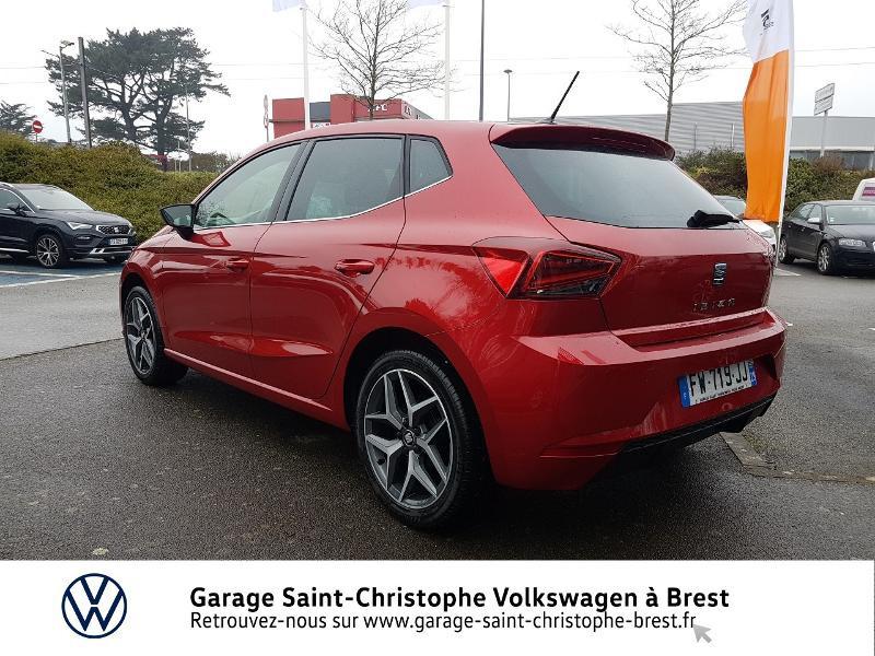 Photo 3 de l'offre de SEAT Ibiza 1.0 EcoTSI 95ch Start/Stop Xcellence Euro6d-T à 16990€ chez Garage Saint Christophe - Volkswagen Brest