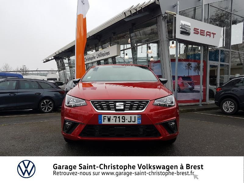 Photo 5 de l'offre de SEAT Ibiza 1.0 EcoTSI 95ch Start/Stop Xcellence Euro6d-T à 16990€ chez Garage Saint Christophe - Volkswagen Brest