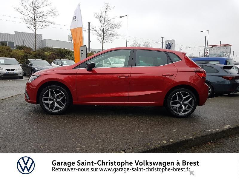 Photo 2 de l'offre de SEAT Ibiza 1.0 EcoTSI 95ch Start/Stop Xcellence Euro6d-T à 16990€ chez Garage Saint Christophe - Volkswagen Brest