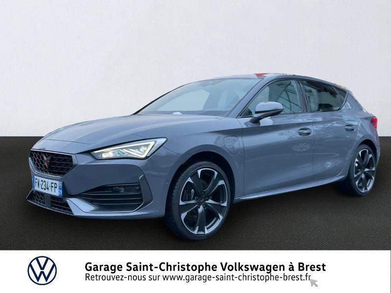 Photo 1 de l'offre de CUPRA Leon 1.4 eHybrid 245ch DSG6 à 36990€ chez Garage Saint Christophe - Volkswagen Brest