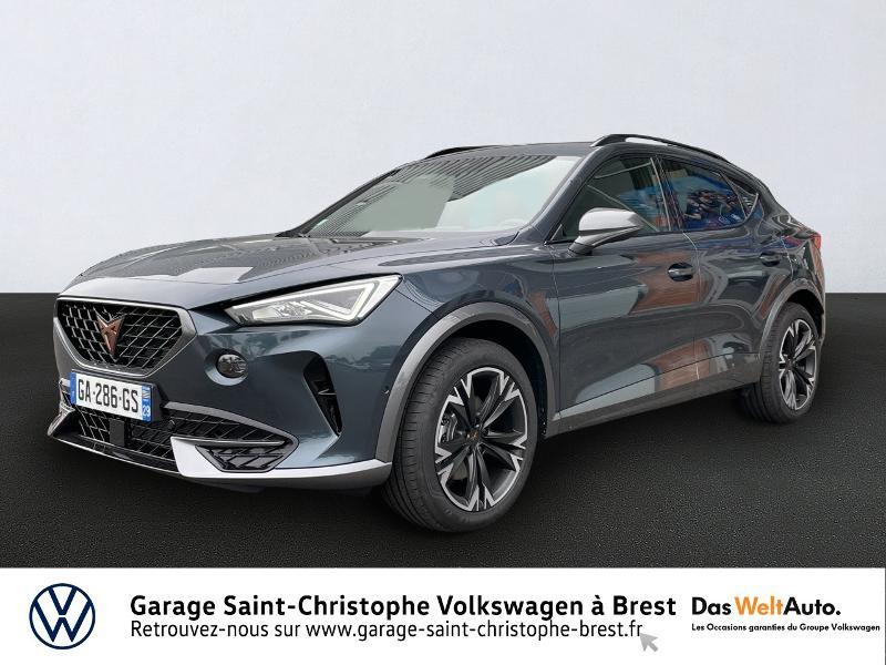 Photo 1 de l'offre de CUPRA Formentor 1.5 TSI 150ch DSG7 à 34290€ chez Garage Saint Christophe - Volkswagen Brest