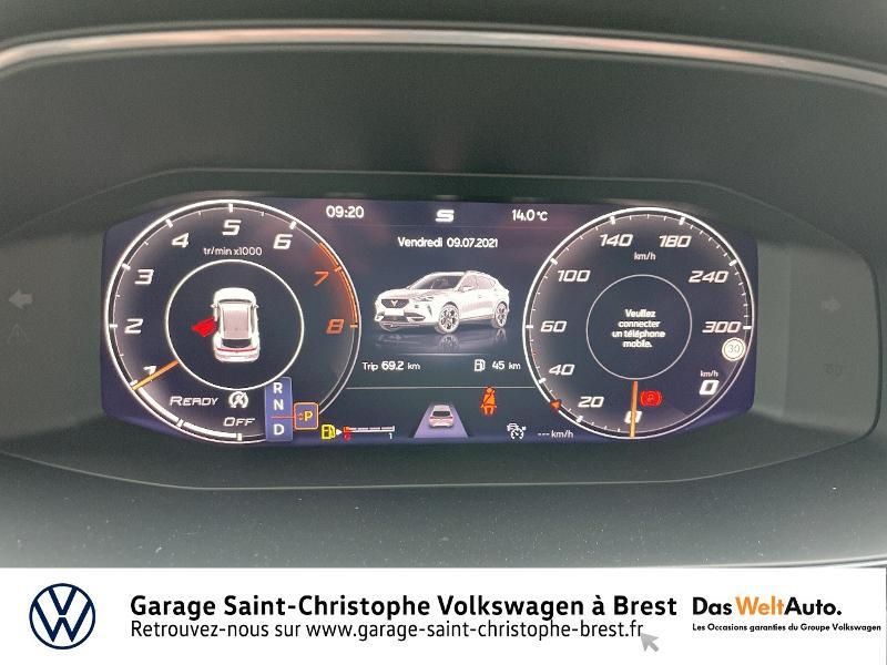 Photo 9 de l'offre de CUPRA Formentor 1.5 TSI 150ch DSG7 à 34290€ chez Garage Saint Christophe - Volkswagen Brest