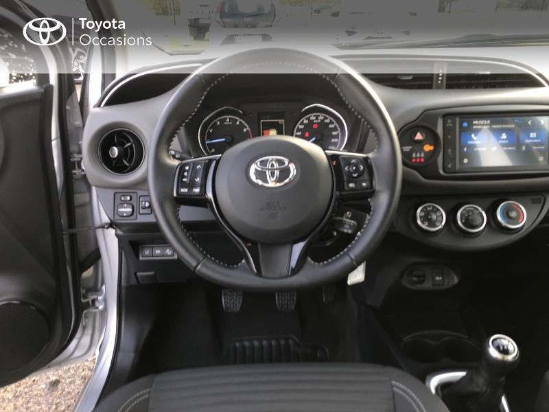 Photo 9 de l'offre de TOYOTA Yaris 70 VVT-i France Connect 5p RC19 à 12490€ chez Horizon Concarneau