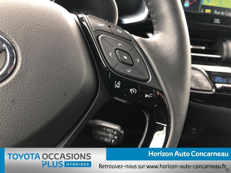 Photo 10 de l'offre de TOYOTA C-HR 184h Collection 2WD E-CVT MC19 à 31900€ chez Horizon Concarneau