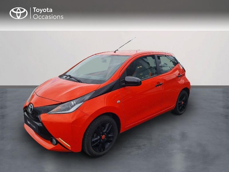 Toyota Aygo 1.0 VVT-i 69ch Stop&Start x-cite 5p Essence ORANGE POP Occasion à vendre