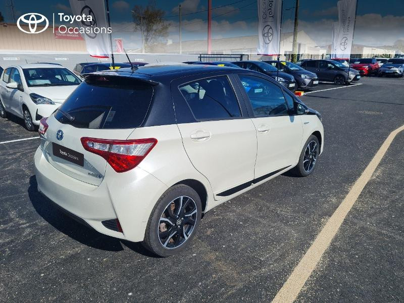 Toyota Yaris 100h Collection 5p Hybride BLANC NACRE Occasion à vendre