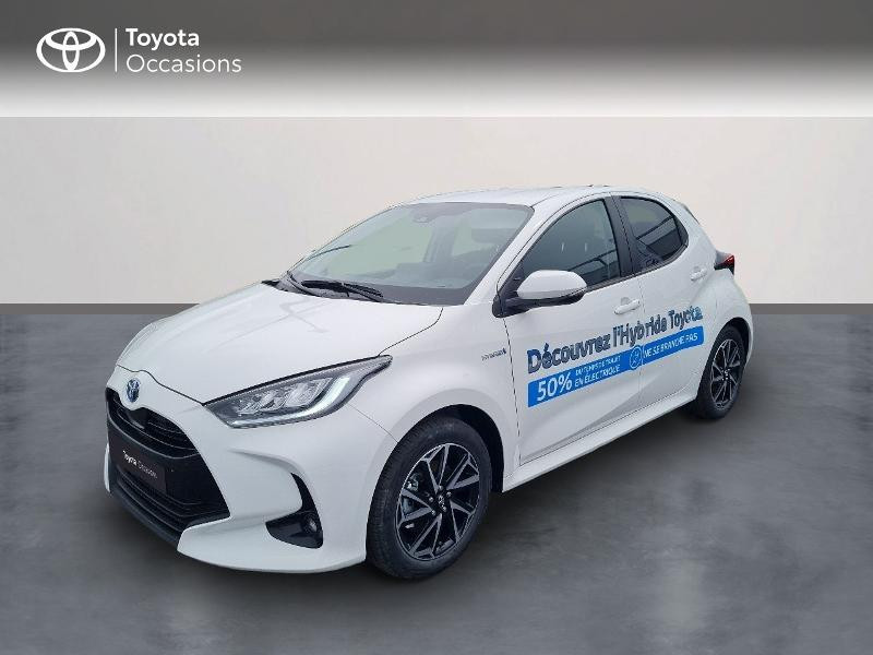 Toyota Yaris 116h Design 5p Hybride BLANC PUR Occasion à vendre