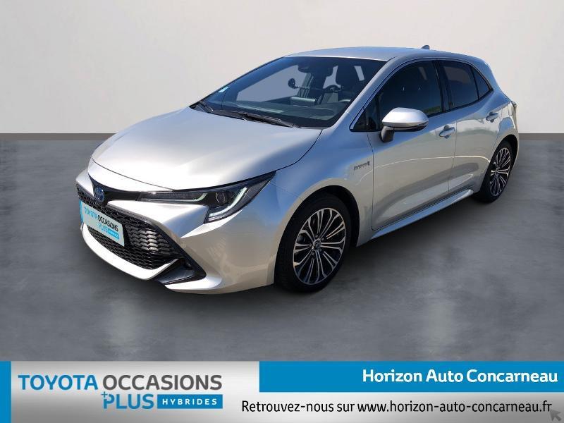 Toyota Corolla 184h Design Hybride GRIS ALUMINIUM Occasion à vendre
