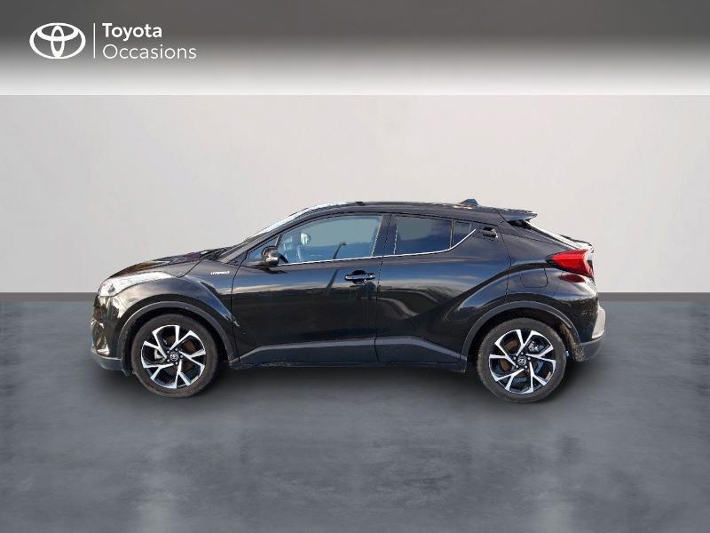 Photo 3 de l'offre de TOYOTA C-HR 122h Edition 2WD E-CVT RC18 à 21490€ chez Horizon Concarneau