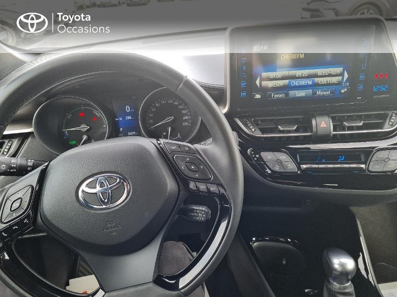 Photo 9 de l'offre de TOYOTA C-HR 122h Edition 2WD E-CVT RC18 à 21490€ chez Horizon Concarneau
