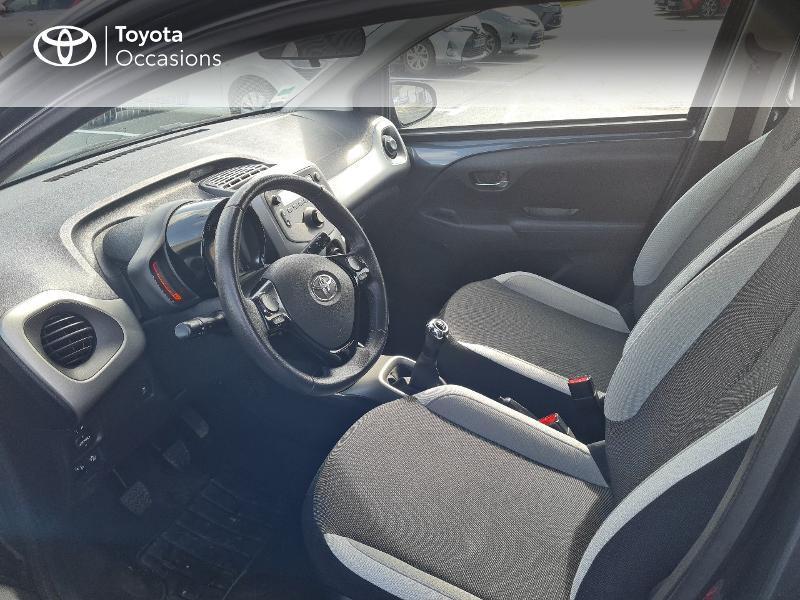 Photo 11 de l'offre de TOYOTA Aygo 1.0 VVT-i 69ch x-play 5p à 8900€ chez Horizon Concarneau