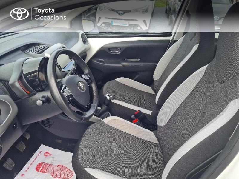 Photo 11 de l'offre de TOYOTA Aygo 1.0 VVT-i 69ch x-play 5p à 8400€ chez Horizon Concarneau