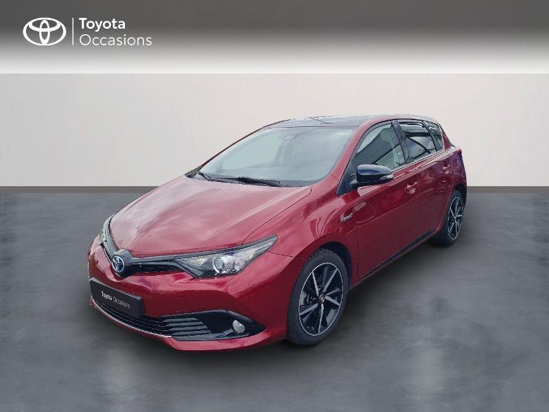 Toyota Auris HSD 136h Collection RC18 Hybride ROUGE ALLURE Occasion à vendre