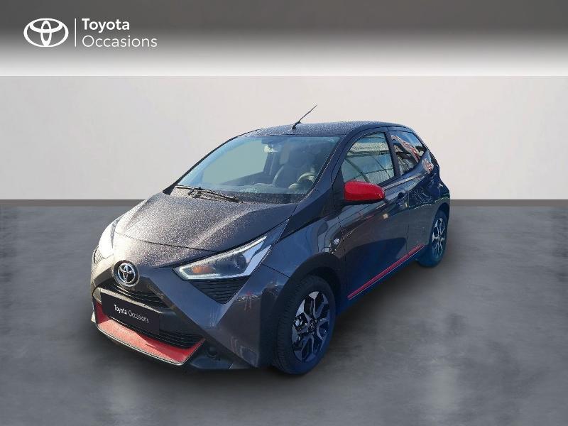 Toyota Aygo 1.0 VVT-i 72ch x-look x-shift 5p MY21 Essence GRIS ATLAS Occasion à vendre