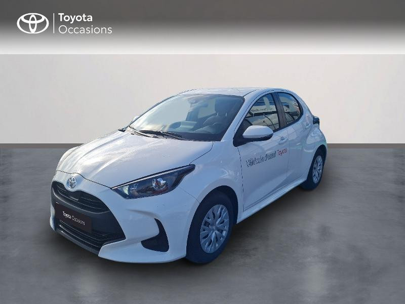 Toyota Yaris 70 VVT-i France 5p Essence BLANC PUR Occasion à vendre