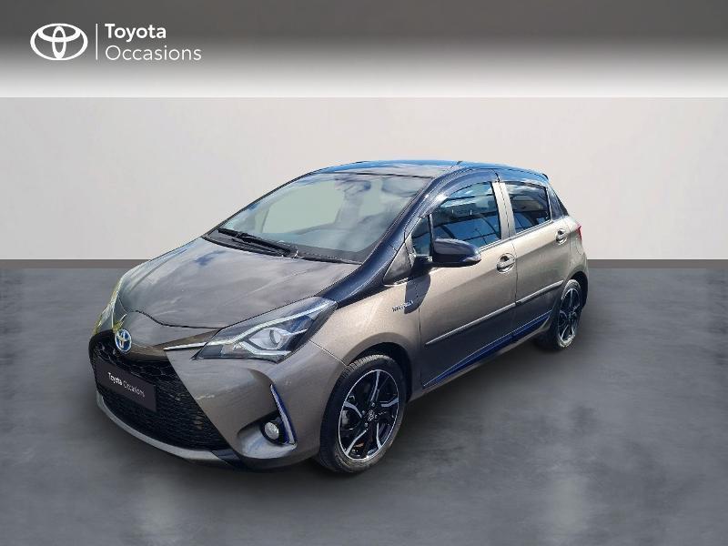Toyota Yaris 100h Collection 5p RC18 Hybride GRIS DUNE Occasion à vendre