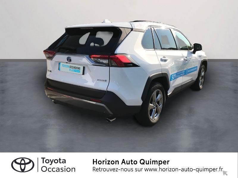 Photo 2 de l'offre de TOYOTA RAV4 Hybride 218ch Dynamic 2WD à 35900€ chez Horizon Carhaix