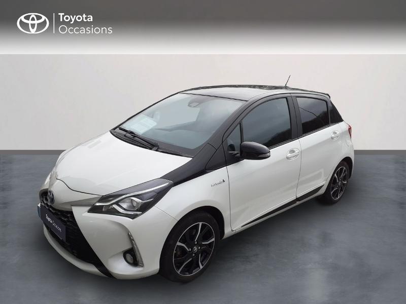 Toyota Yaris 100h Collection 5p Hybride BLANC NACRE Occasion à vendre