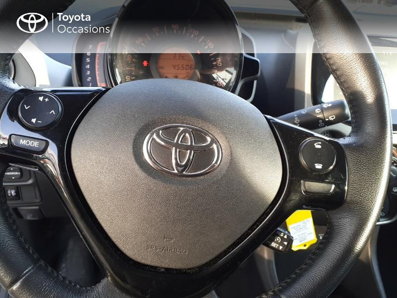 Photo 20 de l'offre de TOYOTA Aygo 1.0 VVT-i 69ch x-play 5p à 9400€ chez Horizon Carhaix