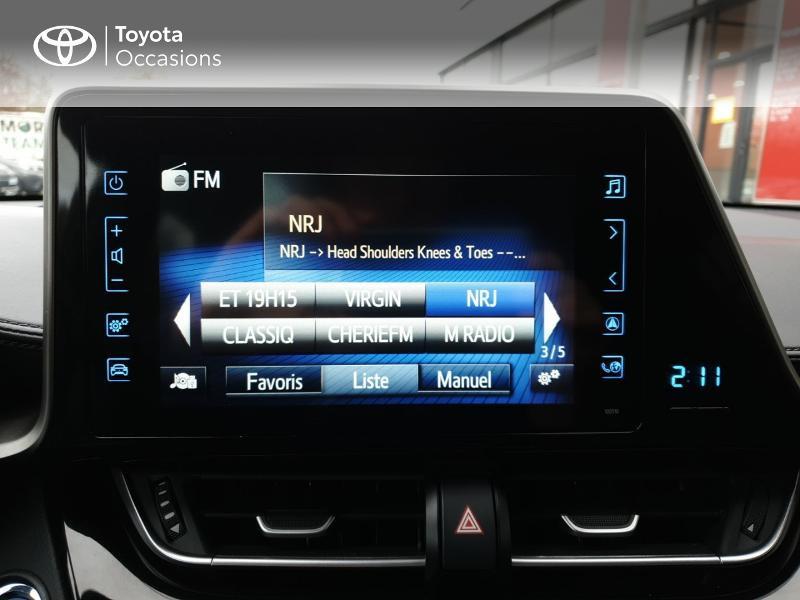 Photo 15 de l'offre de TOYOTA C-HR 122h Edition 2WD E-CVT RC18 à 22980€ chez Horizon Quimper