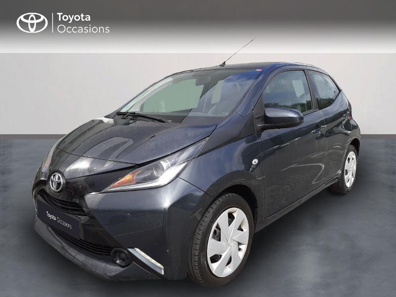 Toyota Aygo 1.0 VVT-i 69ch x-play 5p Essence GRIS ECLIPSE Occasion à vendre