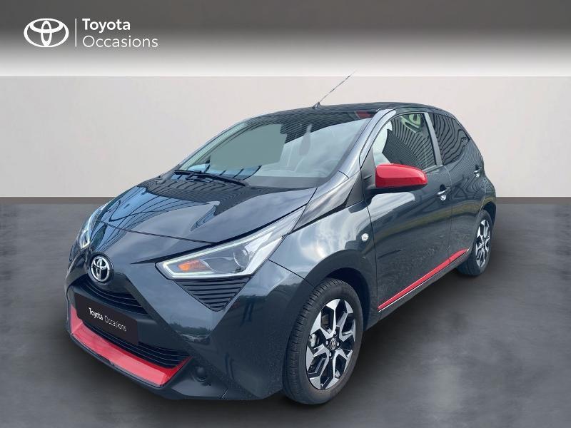Toyota Aygo 1.0 VVT-i 72ch x-sport 5p Essence GRIS ECLIPSE Occasion à vendre