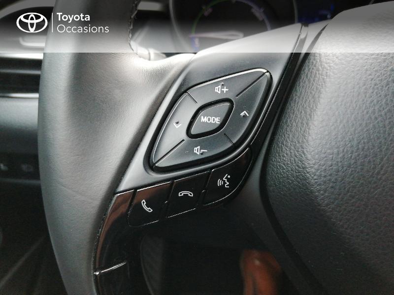 Photo 19 de l'offre de TOYOTA C-HR 122h Edition 2WD E-CVT RC18 à 22600€ chez Horizon Quimper