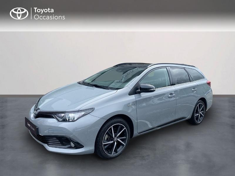 Toyota Auris Touring Sports HSD 136h Collection Hybride GRIS MANHATTAN Occasion à vendre