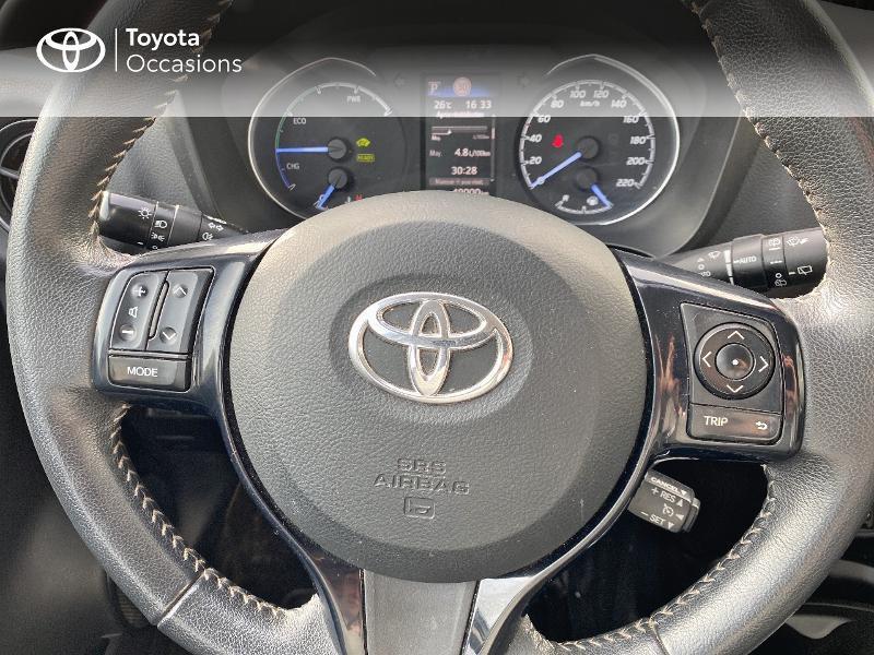 Photo 20 de l'offre de TOYOTA Yaris 100h Dynamic 5p à 14900€ chez Horizon Quimper