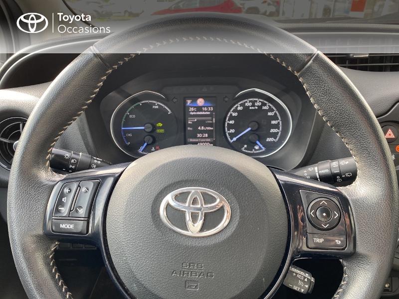 Photo 13 de l'offre de TOYOTA Yaris 100h Dynamic 5p à 14900€ chez Horizon Quimper