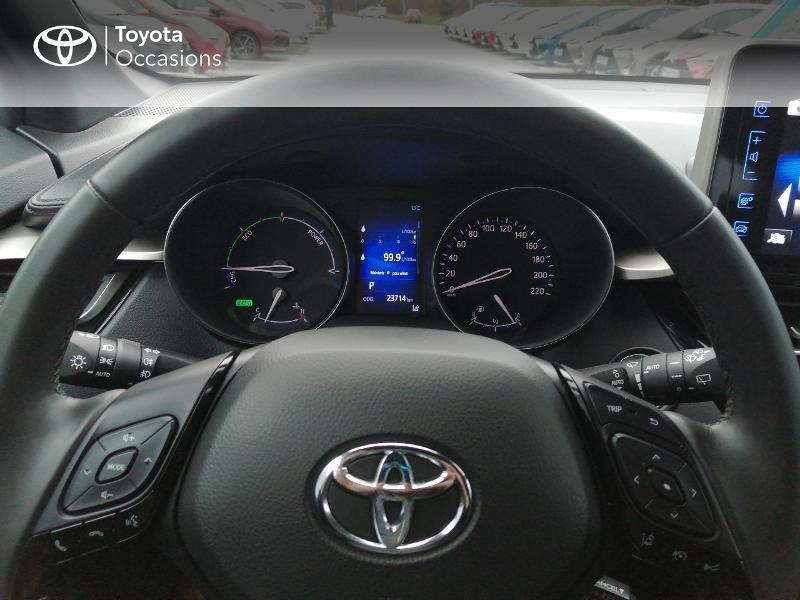 Photo 11 de l'offre de TOYOTA C-HR 122h Edition 2WD E-CVT RC18 à 22600€ chez Horizon Quimper