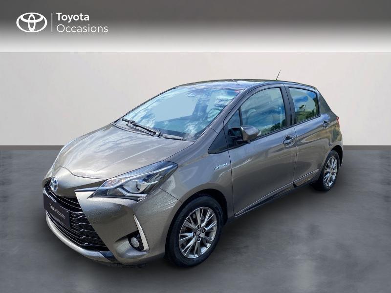 Toyota Yaris 100h Dynamic 5p Hybride GRIS DUNE Occasion à vendre