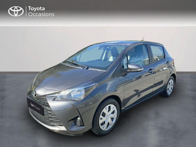 Toyota Yaris 70 VVT-i France Connect 5p MY19 Essence GRIS ATLAS Occasion à vendre