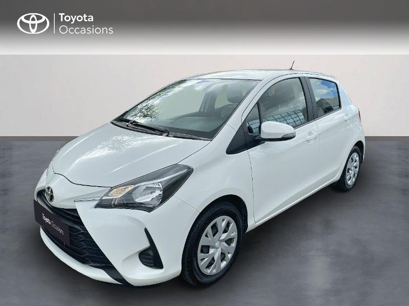 Toyota Yaris 70 VVT-i France Connect 5p MY19 Essence BLANC PUR Occasion à vendre
