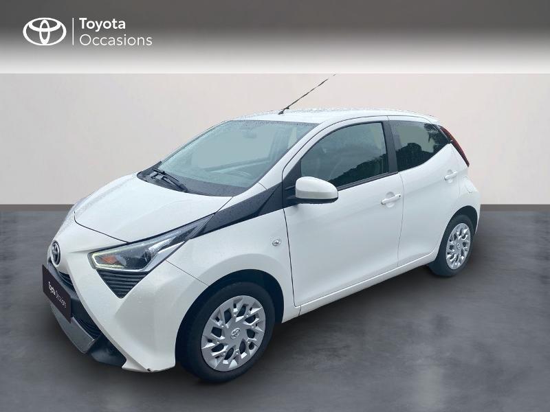 Toyota Aygo 1.0 VVT-i 72ch x-play 5p Essence BLANC PUR Occasion à vendre