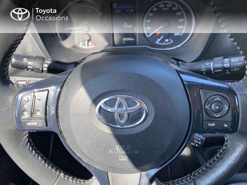 Photo 20 de l'offre de TOYOTA Yaris 100h Dynamic Business 5p à 12800€ chez Horizon Quimper