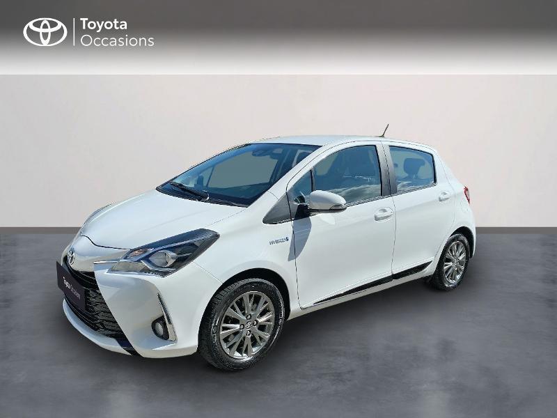 Photo 1 de l'offre de TOYOTA Yaris 100h Dynamic Business 5p à 12800€ chez Horizon Quimper