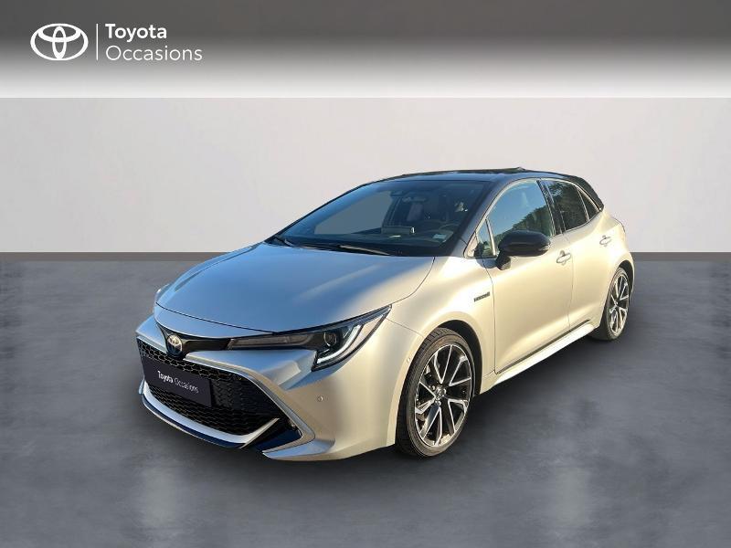 Toyota Corolla 184h Collection MY19 Hybride GRIS ARGENT BI-TON NOIR Occasion à vendre