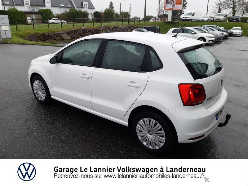 Photo 3 de l'offre de VOLKSWAGEN Polo 1.0 60ch Edition 2017 5p à 11410€ chez Garage Le Lannier - Volkswagen Landerneau