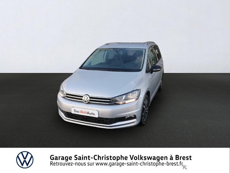Volkswagen Touran 2.0 TDI 150ch FAP IQ.Drive DSG7 7 places Euro6d-T Diesel REFLET ARGENT Occasion à vendre