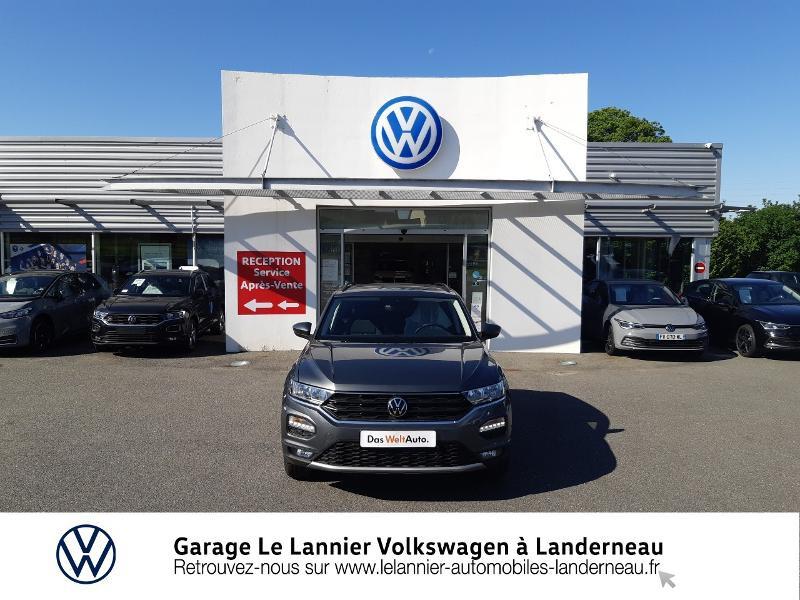 Photo 5 de l'offre de VOLKSWAGEN T-Roc 1.0 TSI 110ch Lounge à 23410€ chez Garage Le Lannier - Volkswagen Landerneau