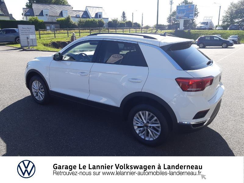 Photo 3 de l'offre de VOLKSWAGEN T-Roc 1.0 TSI 110ch Lounge à 23410€ chez Garage Le Lannier - Volkswagen Landerneau