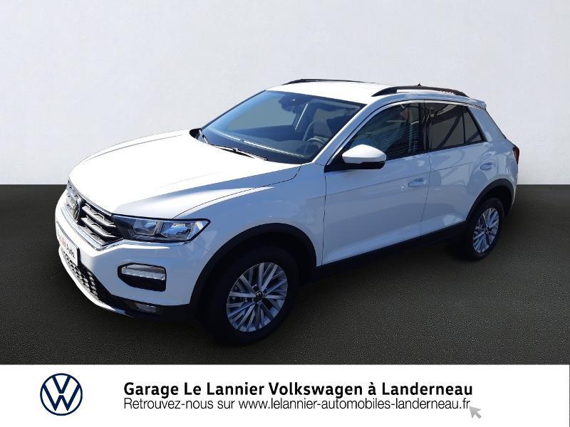 Photo 1 de l'offre de VOLKSWAGEN T-Roc 1.0 TSI 110ch Lounge à 23410€ chez Garage Le Lannier - Volkswagen Landerneau